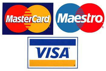 pin mastercard visa